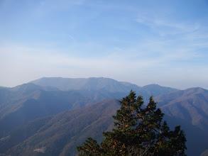霊仙山アップ