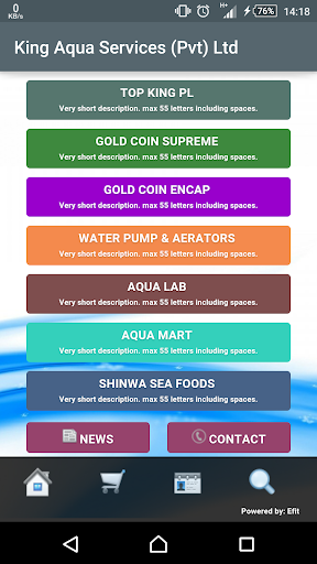 King Aqua - Online Shop