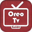 Oreo TV App Live Guide: Movies & Cricket Tips Free icon