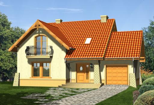 projekt domu Laguna