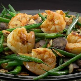 Sautéed Shrimp and Green Beans