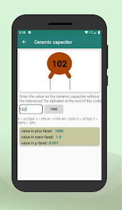 Electronic components & Circuit calculator App Download for Android 3