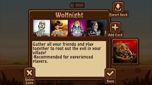 Wolfnight Werewolf Mafia