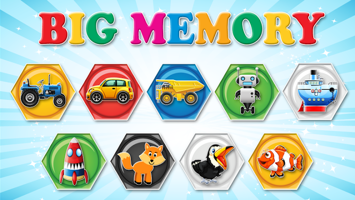 Memory trainer for children- screenshot thumbnail
