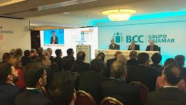 Junta General de Accionista del Banco de Crédito Cooperativo celebrada ayer en Madrid.
