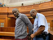 Blessing Bveni, who faces two counts of murder and one of attempted murder, in the high court in Cape Town.