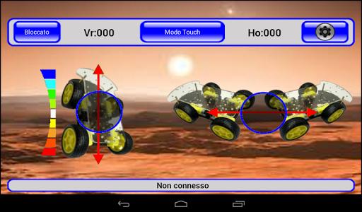 IRacer & Arduino BT controller screenshot 12