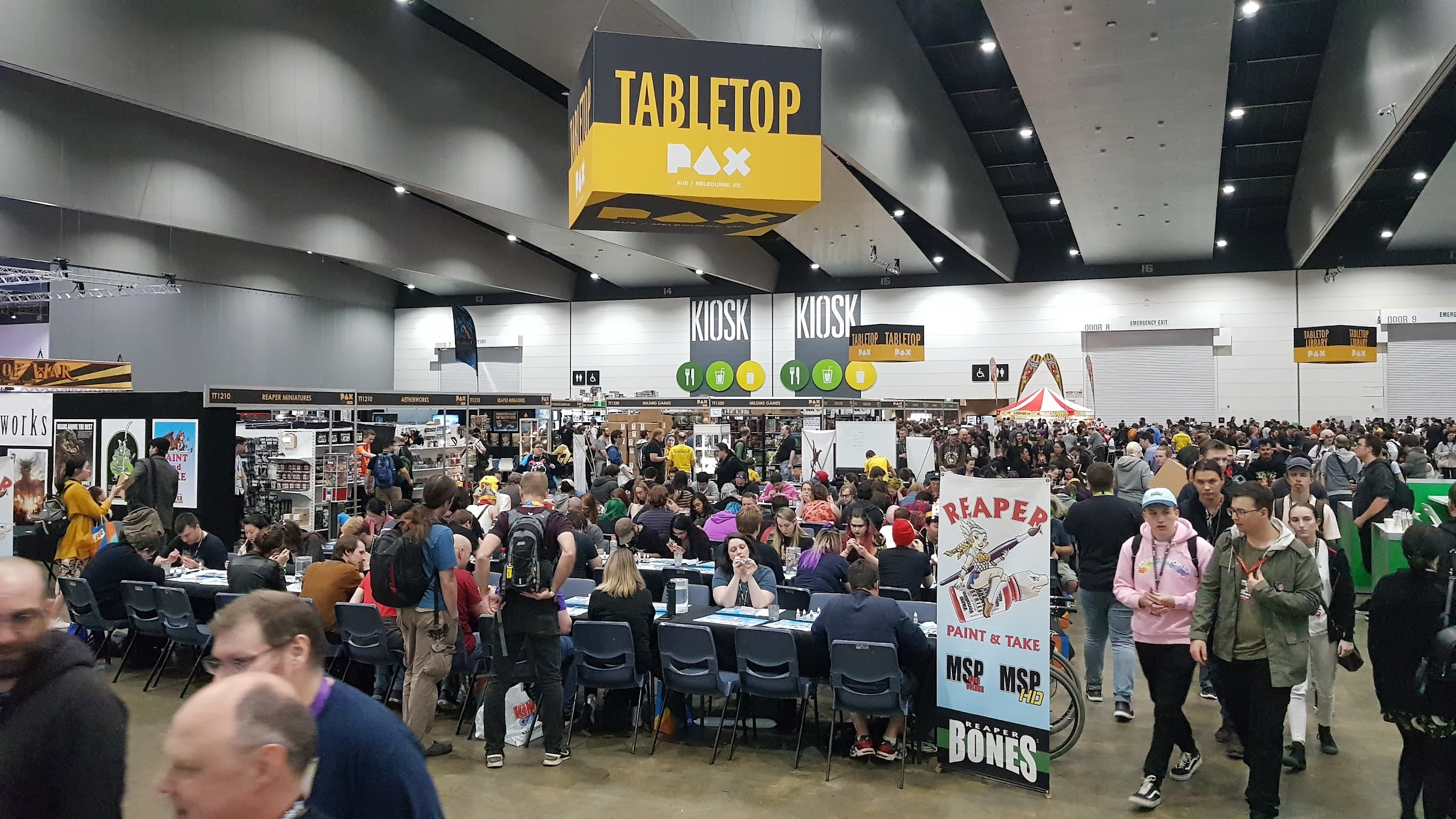 Reaper 'Paint and Take' at PAX 2019