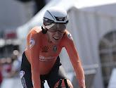 Ellen van Dijk a décroché son 4e titre consécutif du contre-la-montre à l'Euro de cyclisme