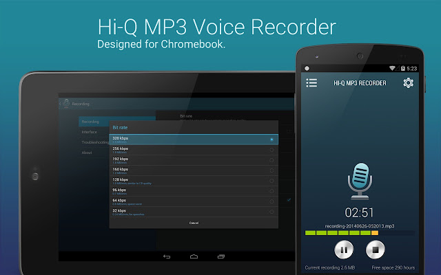 voice recorder for chromebook
