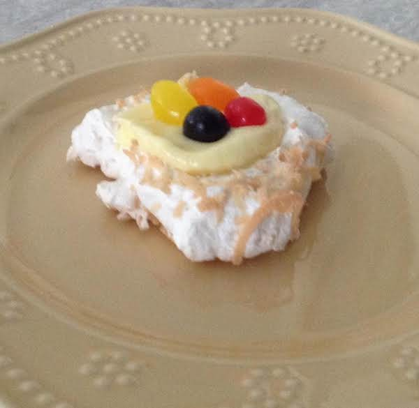 Coconut Meringue Nests Recipe