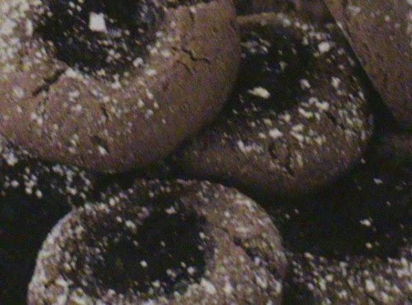 Chocolate Raspberry Thumbprints Recipe