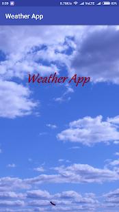 Weather App - Get Weather Information - náhled