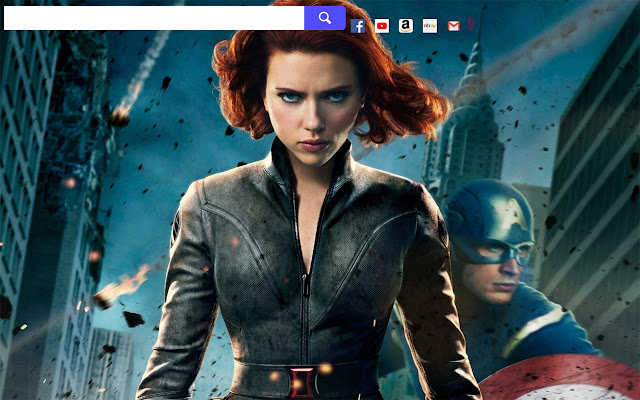 Black Widow Movie Hd Wallpapers New Tab