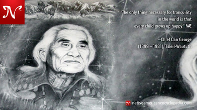 Photo: The only thing necessary for tranquility in the world is that every child grows up happy. —Chief Dan George (1899 – 1981), Tsleil-Waututh