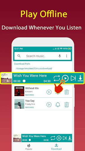 Free Mp3 Music Downloader screenshot 3