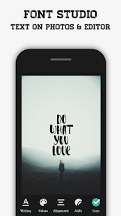 FontStudio : Text on photos & Stickers - náhled