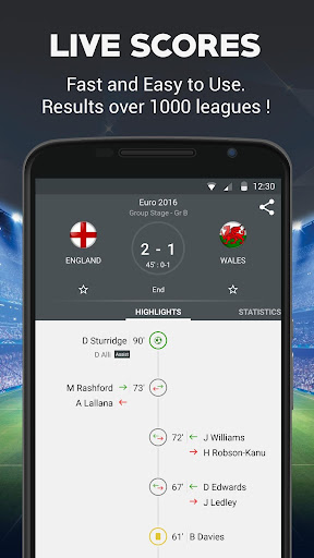 Live Football Screenshot