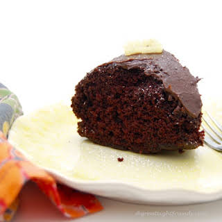 Spicy Chocolate Cake with Jalapeño Fudge Frosting.