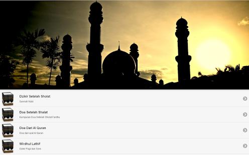 ZIKIR RATIB DAN DOA screenshot