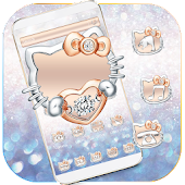 Diamond Kitty Theme Wallpaper Android APK Download Free By Century Themes Club 2018
