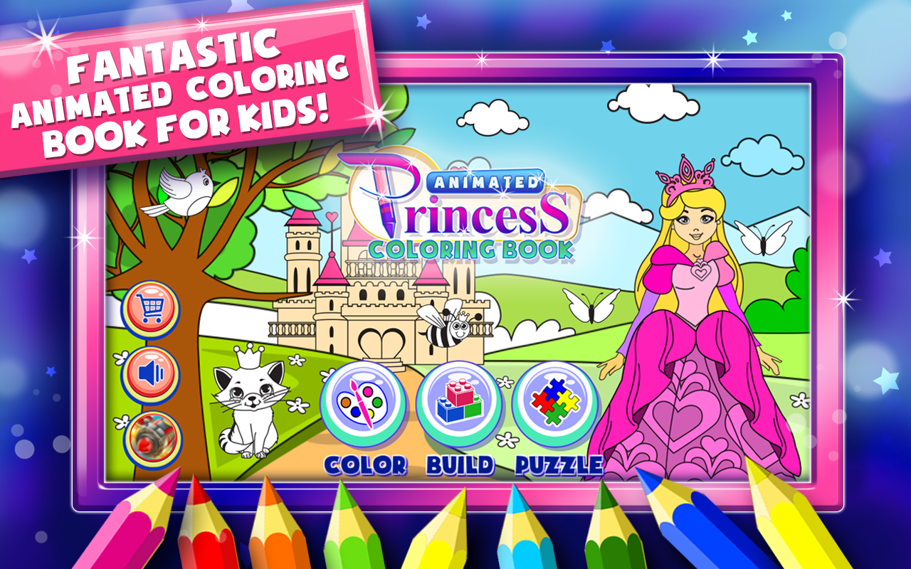 Princess Coloring Book Games Android Apps On Google Play Screenshot