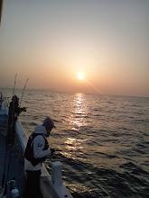 Photo: おはようございます! 今日もいいナギ! さあー!昨日みたいにバリバリ釣れますように・・・。