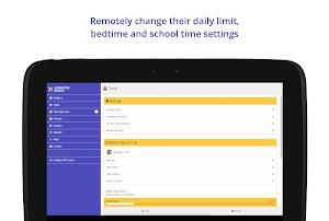 Screen Time Parental Control app screenshot
