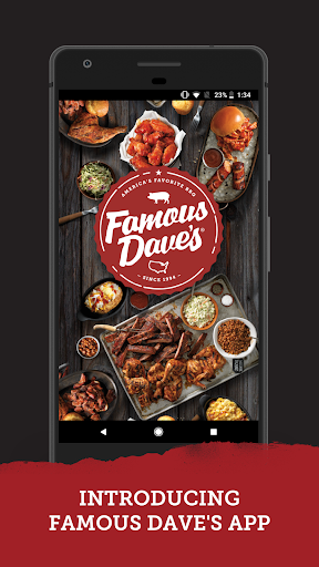 Screenshot for Famous Dave's in United States Play Store