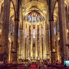 catedral del Mar, Barcelona by -. Phœnix .- - Buildings & Architecture Places of Worship ( barcelona, catedral del mar,  )