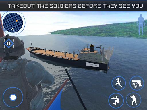 Blazing Sniper Commando : Navy Terrorist Attack 3d 1.0 screenshots 3