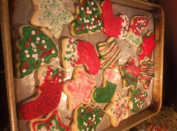 Shortbread Cut Out Cookies