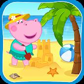 Tải Game Hippo Bãi biển phiêu lưu