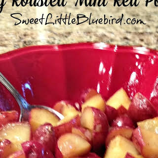 Honey Roasted Mini Red Potatoes.
