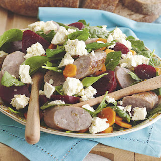 Caramelized Beet, Arugula and Feta Salad