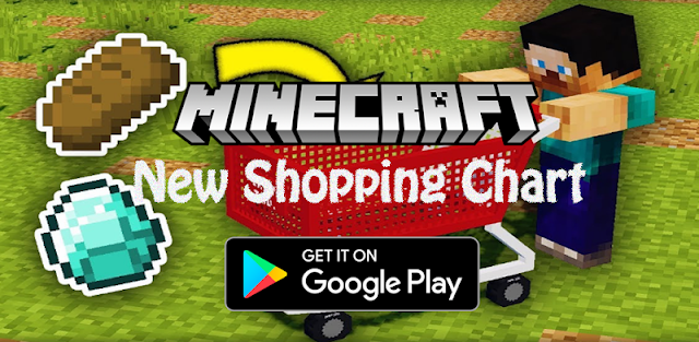 New Shopping Chart for MCPE