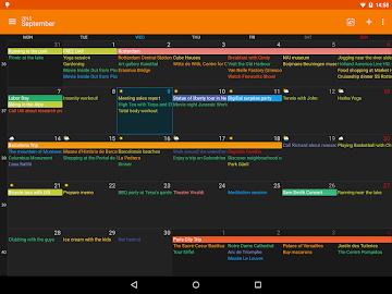 DigiCal+ Calendar Screenshot 20