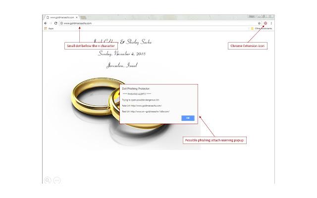 Dot Phishing Protector