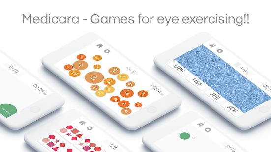 Medicara - Eye Exercise Game - náhled