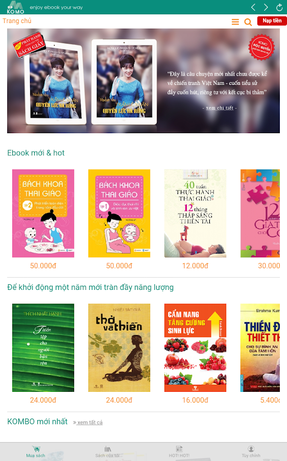 KOMO Ebook- screenshot