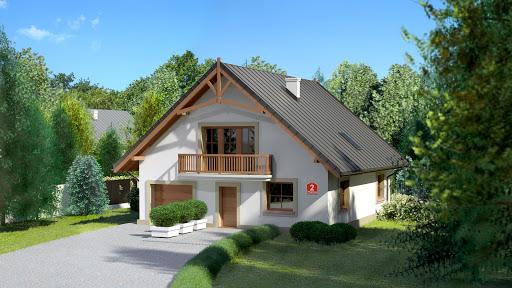 projekt Dom przy Wiązowej 2
