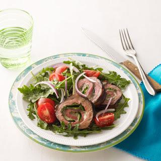 Provolone and Arugula-Stuffed Flank Steak