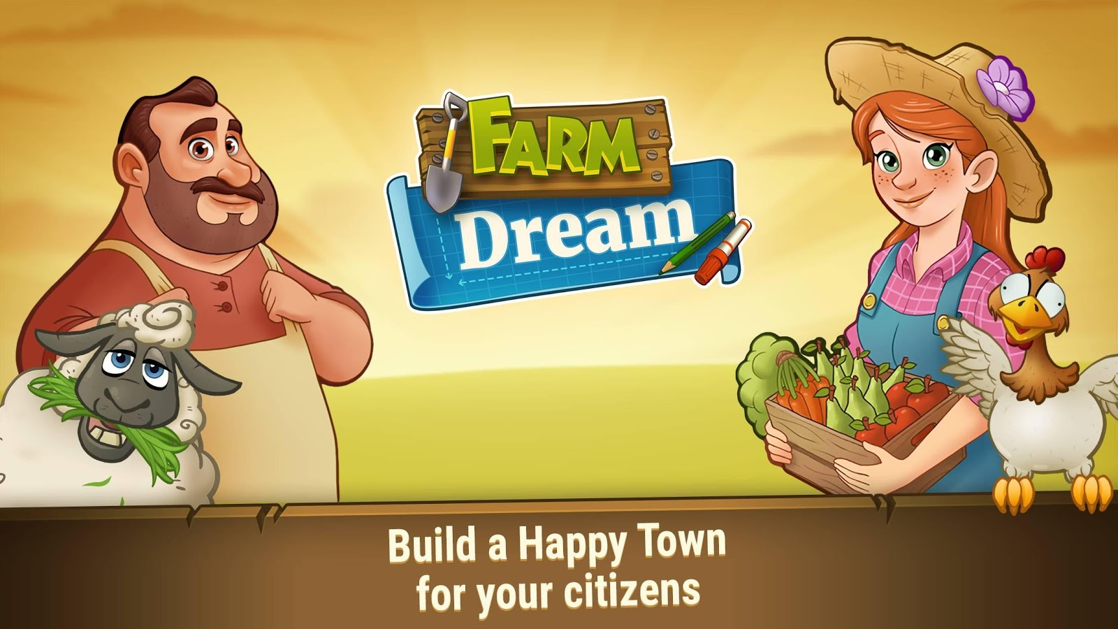 Farm Dream: Village Harvest Paradise - Day of Hay- screenshot