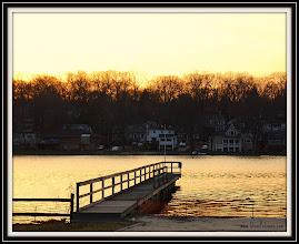 Photo: Day 352 Sunset at 7:00 pm Packanack Lake, Wayne, NJ