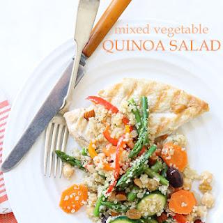 Mixed Vegetable Quinoa Salad