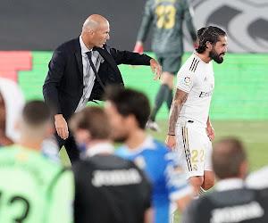 Zidane a maintenant un autre problème, et il s'appelle isco
