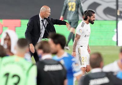 Isco absent du match du Real... pour la bonne cause