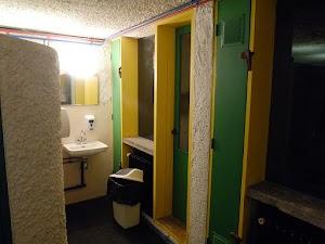 La Tourette - toalety i prysznice
