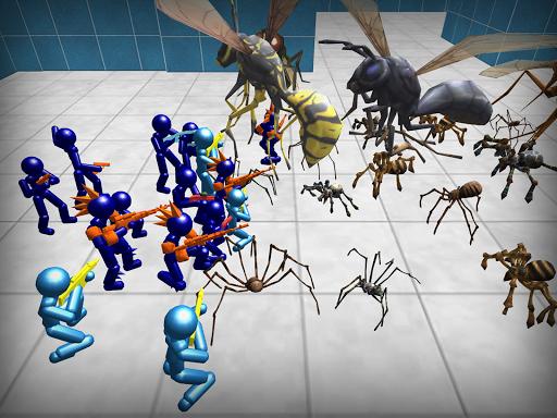 Stickman Spiders Battle Simulator 1.01 screenshots 9