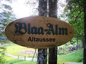 Photo: Wir starten wieder bei der Blaa Alm.